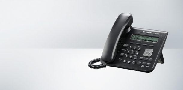Telefon SIP Panasonic KX-UT123